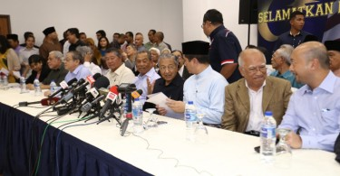 A motley crew of politicians with different ideologies got together on March 4, 2015, mainly to rally Malaysians to oust the prime minister. Parties in the opposition thought did not officially back the declaration.