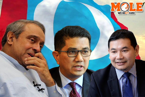 Chandra, Azmin and Rafizi