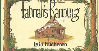 The original cover page of the book, illustrated by Iain Buchanan.