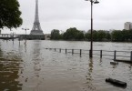 Parts of Paris are flooded as the Seine bursts its banks.