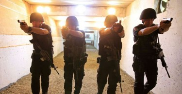 Filipino police is at war with drug dealers.