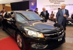The new Perdana, which also happens to be Najib's new official car. -- Bernama photo
