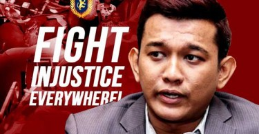 Sanjeevan came under fire following his alleged criminality, a thing he once rallied against.