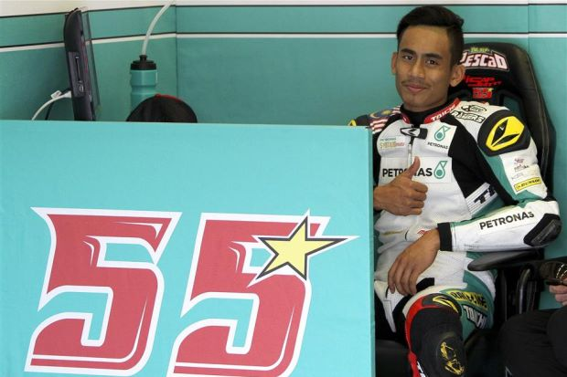 Hafizh is now fifth in the Moto2 overall standings.