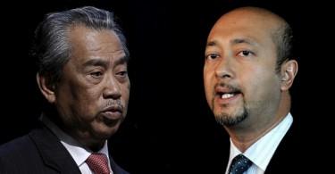 Muhyiddin (left) and Mukhriz still can't decide where their politics will take them post-Umno.