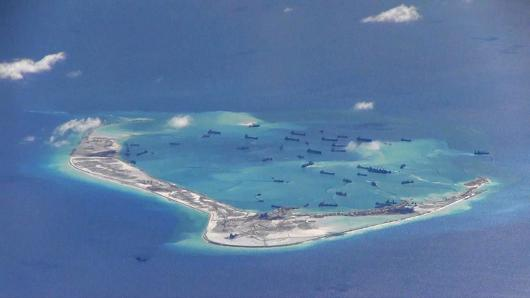 China has a military presence in the Spratly Islands, the sovereignty over which is claimed also by several countries in the region.