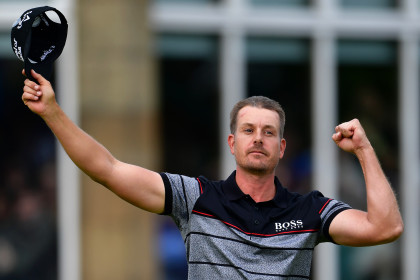 Stenson is first Scandinavian male to win a golf major.