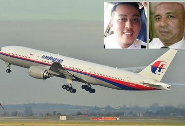 The pilots who flew MH370.