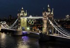 The+Olympic+rings+are+lit+up+on+Tower+Bridge+London+in+preparation+for+the+start+of+the+2012+London+Olympics.2