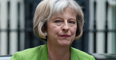"Theresa May -- Britain's second female prime minister and ""Iron Mayden""."