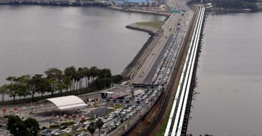 The Johor-Singapore Causeway