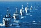 China's warships of the  South Sea Fleet