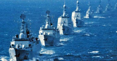China's warships of the  South Sea Fleet
