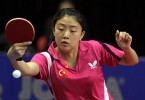 Melek Hu in action for Turkey