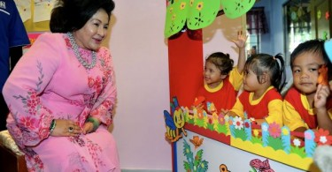 Permata Program is supported by the former prime minister's wife, Datuk Seri Rosmah Mansor.