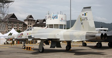 The F5E jet fighter was once the backbone of RMAF