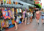 Bangkok's Khao San Road is well established as a place to stay for backpackers.