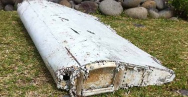 The first confirmed debris from flight MH370 was a flaperon found on the Reunion island.