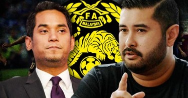 Khairy (left) and TMJ.