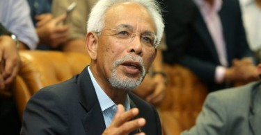 Shahrir used to be a minister in the federal Cabinet.