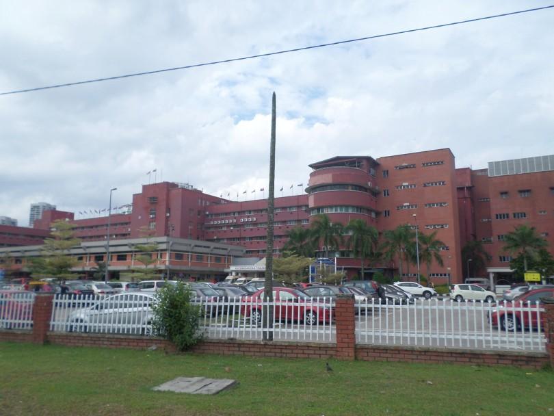 The Sultanah Aminah Hospital.
