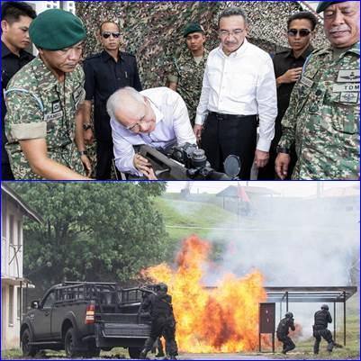 Najib at the launch of NSOF. -- Bernama photo