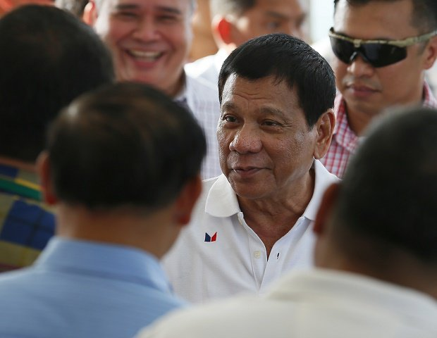 Duterte is in KL for a two-day official visit.