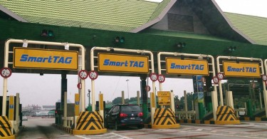 It will be fully electronic at nine PLUS toll plazas in the northern section beginning November 30.