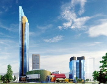 An artist's impression of the new PWTC.