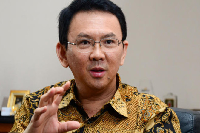 Ahok is seeking re-election as governor.