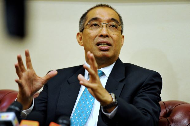 Communications and Multimedia Minister Datuk Seri Dr Salleh Said Keruak