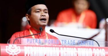 Umno Setiu delegate and Youth chief, Mohd Iskandar Jaafar.