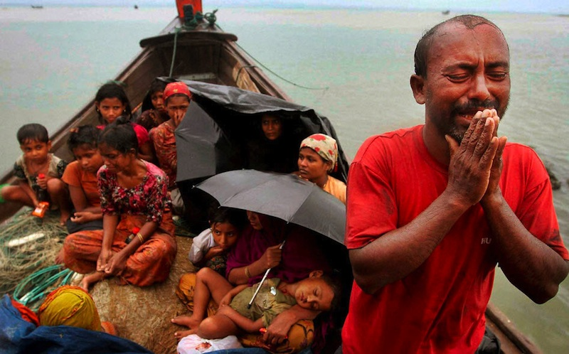 rohingyas-flee