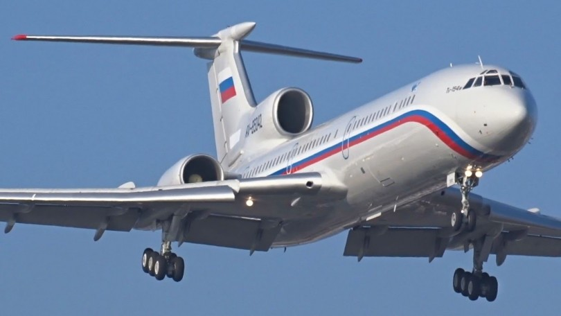 A Russian Airforce's TU-154 Tupolev