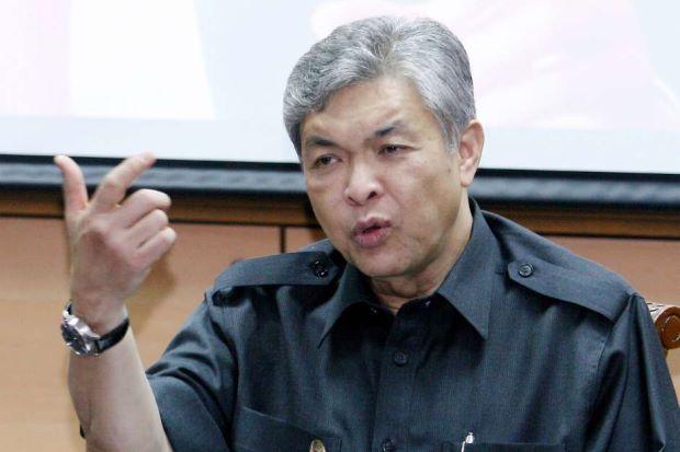 Deputy Prime Minister Datuk Seri Dr Ahmad Zahid Hamidi