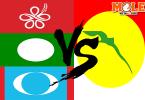 Bersatu, Pas and PKR VS Umno