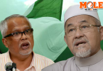 "Mahfodz (right) also said that the Pas disciplinary committee will handle Mahfuz's ""antics"" accordingly."