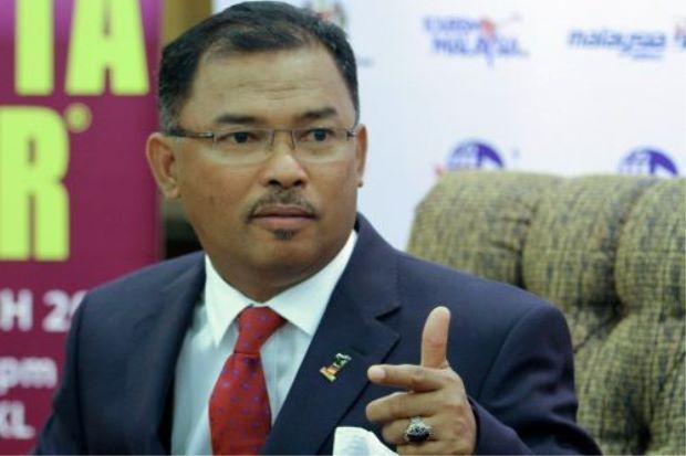 Malacca Chief Minister Datuk Seri Idris Haron