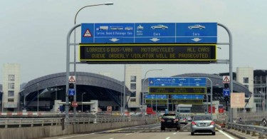 All foreign registered vehicles entering Singapore via the Causeway or Tuas link will have to pay S$6.40 beginning February 15, over and above the other charges being implemented now.