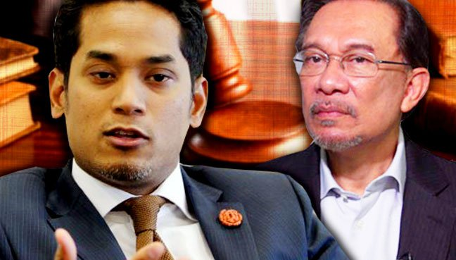 The Khairy and Anwar battle in court continues.