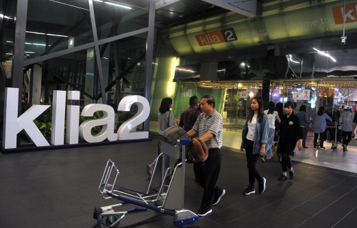 A sweep of klia2 for toxic chemicals gave the airport the all-clear. -- Bernama photo