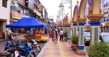 Brickfields, also known as Little India of Kuala Lumpur