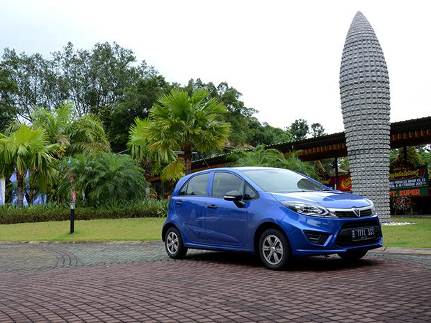 A Proton Iriz in Indonesia