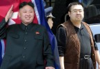 North Korean leader Kim Jong Un and his estranged half-brother Kim Jong Nam