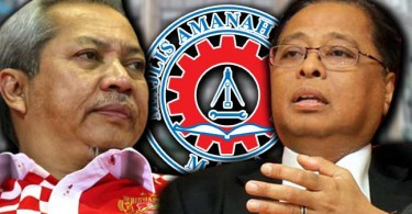 Tan Sri Annuar Musa and Datuk Seri Ismail Sabri Yaacob