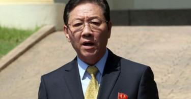 Kang Chol, North Korea's ambassador to Malaysia