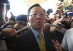 North Korean envoy Kang Chol at KLIA today.