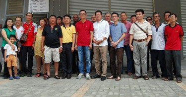 Among the 182 leaders and members of DAP in Malacca who exited the party over the weekend.