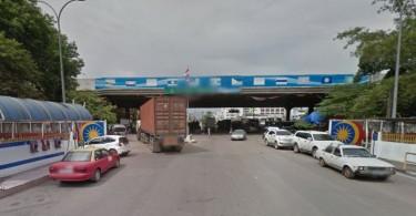 The Bukit Kayu Hitam border checkpoint.