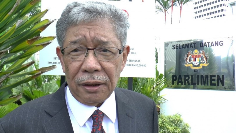 Former Sungai Benut MP and son of the late DPM Tun Dr Ismail Abdul Rahman, Mohamed Tawfik Ismail.